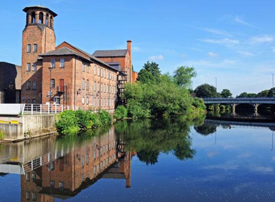 The-Silk-Mill-alongside-the-River-Derwent,-Derby---Measham.jpg